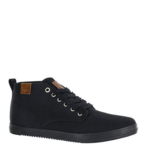 cheap countdown package the cheapest sale online Vlado Footwear Men's Leon Mid Top Canvas Sneaker Black Mono for nice for sale free shipping finishline cheap price low shipping fee 0Q0N16