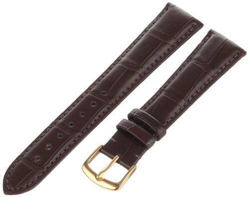 - Hadley-Roma Men's MS2005RZ-200 20-mm Dark Brown Genuine Alligator Leather Watch Strap