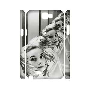 audrey hepburn quotes Wholesale DIY 3D Cell Phone Samsung Galaxy Note3 , audrey hepburn quotes Samsung Galaxy Note3 3D Phone Case