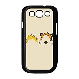 Samsung Galaxy S3 9300 Cell Phone Case Black Calvin Hobbes Minimal Illust R0L1TE