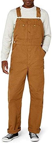 [해외]DICPOLIA Men`s Classic Mechanic Overall Suspender Jumpsuit Bib PantsPocket / DICPOLIA Men`s Classic Mechanic Overall Suspender Jumpsuit Bib PantsPocket Khaki
