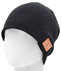 Upgraded V4.2 Bluetooth Beanie Hat Headp...