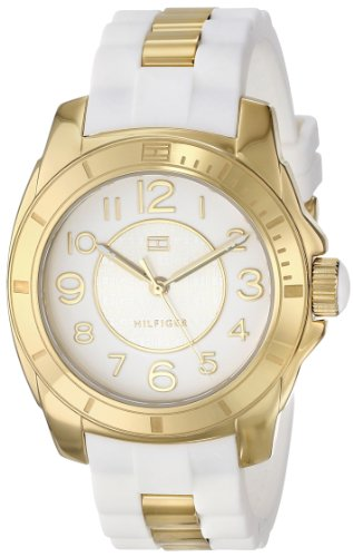 Tommy Hilfiger Women's 1781309 Analog Display Quartz White Watch