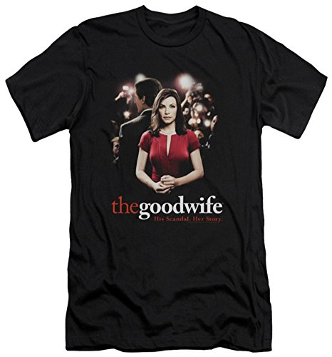 The Good Wife - Bad Press (slim fit) T-Shirt Size M (The Good Wife Merchandise compare prices)
