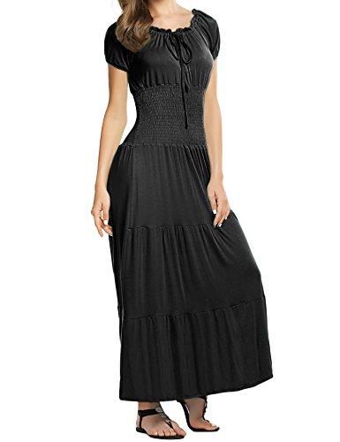 Meane (Black Renaissance Dress)