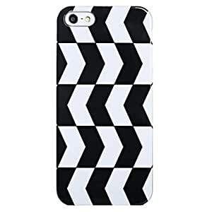 RC - Black&White Pattern Back Case for iPhone 5/5S
