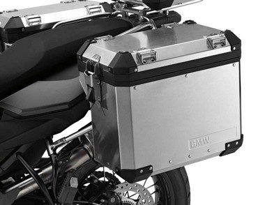 BMW Genuine F800GS F650GS Motorcycle ALUMINUM CASES Right (Aluminium Motorrad)