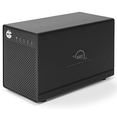 OWC 2.0TB ThunderBay 4 mini, Four-Drive SSD with Dual Thunderbolt 2 Ports, RAID-ReadyJBOD (Owc 2tb Hard Drive)