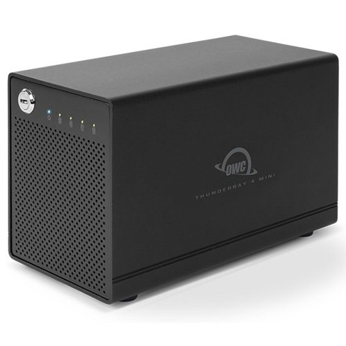 OWC ThunderBay 4 mini, Four-Drive SSD with Dual Thunderbolt 2 Ports, RAID-Ready JBOD Solution