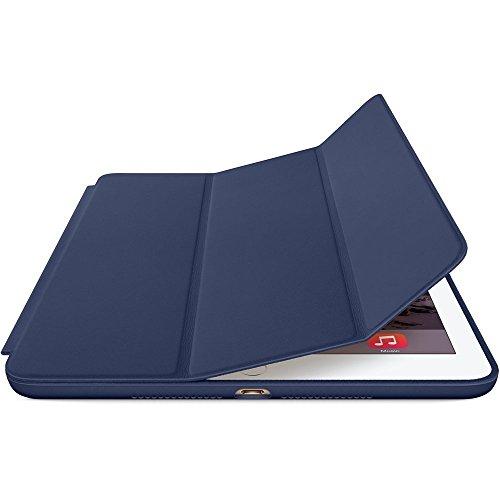 SHM-iPad-2017-iPad-97-inch-CaseSHM-Ultra-Slim-Lightweight-Smart-Case-Trifold-Stand-with-Auto-SleepWake-Function-Hard-Back-Cover-for-Apple-iPad-97-inch-Blue