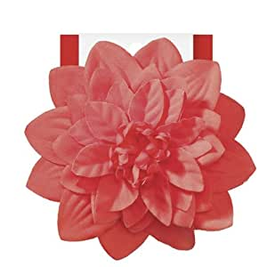 Elle Red Flower Salon Clip