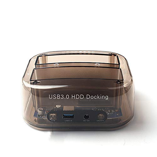POTENCO Hard Drive Docking Station, USB 3.0 IDE 2.5/3.5 Inch SATA Hard Drive Multifunction Card Reader with Slot by POTENCO
