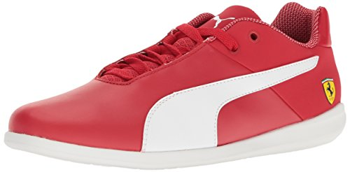 PUMA Men's SF Future Cat Casual Walking Shoe, Rosso Corsa White, 8 M US
