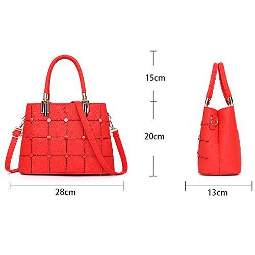Diagonal Green Zll Las Women's Casual Asas De Mujeres Bolsa Bag Bolso Elegante 6x6vPrR