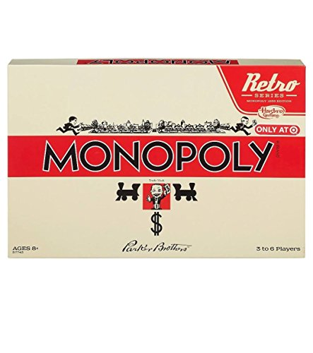 Retro New Monopoly Monopoly Game Edition (Original Version) -