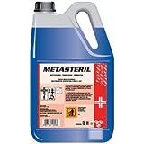 Metasteril disinfettante profumato lt.5 sali quaternari di ammonio registrazione Presidio Medico.