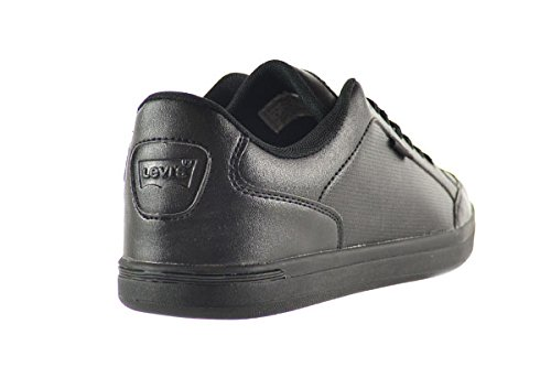 Amazon.com | Levi's Aart Core PU Men's Shoes Black Mono Chrome 516405-a48  (10 D(M) US) | Fashion Sneakers