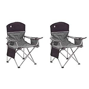 5. Coleman® Oversized Quad Chair with cooler
