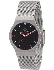 Toy Watch Womens TOYMH07SL Mesh Analog Display Swiss Quartz Silver Watch