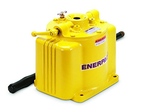 Enerpac P-50 Single Speed Low Pressure Hand pump with 5000 Pounds Per Square Inch by Enerpac