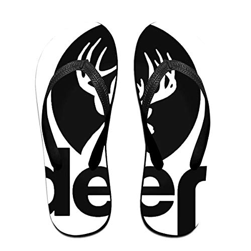 Towilliamsnya Black Funny Slippers Jeep Deer L Coolest Slippers House Slippers for Women & Men