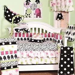 Cotton Tale Designs Designs Baby Bedding Set, Hottsie Dottsie