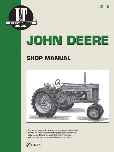 John Deere Shop Manual: Models 50 60 & 70