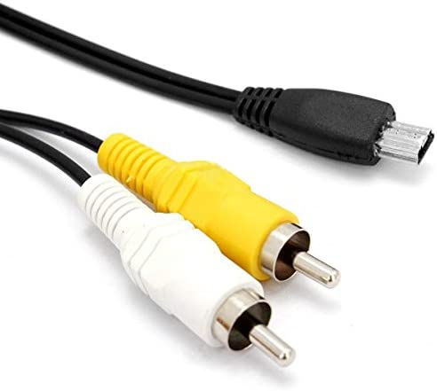 MEETBM ZIMO,Digital Camera AV Cable for Canon IXUS105IS// IXUS110IS//IXUS200IS//IXUS210//SD980//SD//1400//SD3500