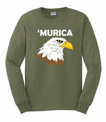 ThisWear Murica Long Sleeve T Shirt
