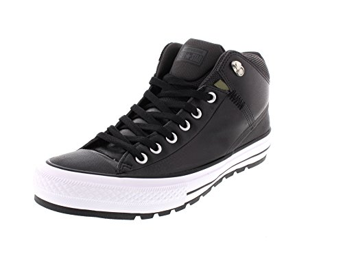 Converse Unisex Chuck Taylor All Star Street Boot, Black/Storm Wind, 13