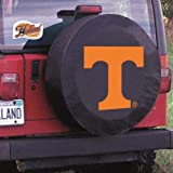 Holland Bar Stool TCYTennesBK-32 1/4 x 12 Tennessee Tire Cover-Black