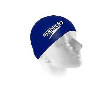 526cc1a93ff70 Touca para Natação Speedo Big Swim Cap Branco  Amazon.com.br ...