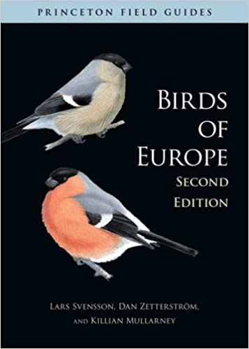 Book cover: Birds of Europe (image linked from amazon.com)