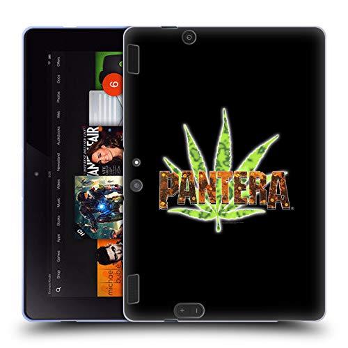 Official Pantera Vintage Leaf Art Soft Gel Case for Amazon Kindle Fire HDX 8.9