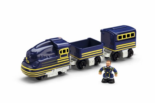 - Fisher-Price Geo Trax Rail Brutus and Victor