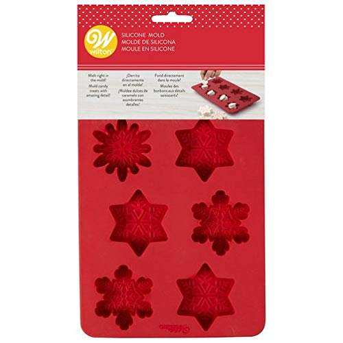 Silicone Candy Mold-snowflake 8 Cavity (3 Designs) ()