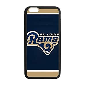 Handsome tangible design St. Saint-Louis Rams Logo Skin Iphone 6 plus 5.5 Case Cover Shell (Laser Technology)