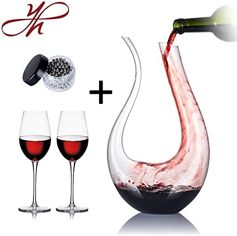 Decanter Glasses Cleaning Crystal Aerator product image