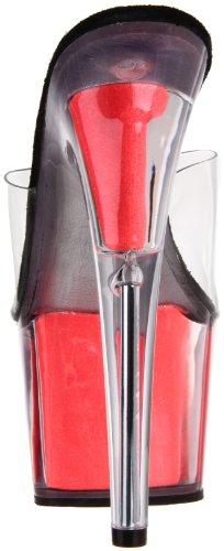 PleaserAdore - Sandalias de Vestir mujer transparente - Transparent (Transparent/Corail Néon)