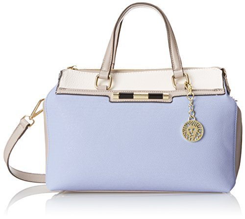 Anne Klein Beyond The Pale Satchel Top Handle Bag, Periwinkle, One Size