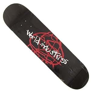 World Industries Logo Sketchy Skateboard Deck (7.75)