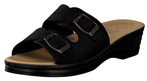 brandsseller Women's Roman Sandals Black