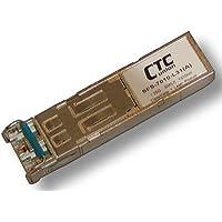 SFP (miniGBIC) optical module, single mode, Gigabit 1.25G rate, 1000Base LX, 10Km, LC connector, 1310nm