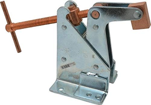 3,200 Lb Holding Capacity, 6'' Max Opening Capacity, Manual Hold Down Clamp pack of 2