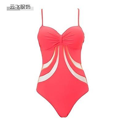Maillot de bain bikini moderne et confortable - rayures modernes et confortables lits jumeaux série bikini maillot de bain maillot de bain, le rouge,42