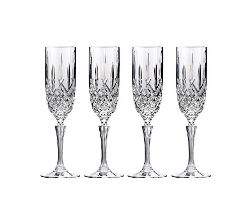 4 Champagne Glasses (Marquis by Waterford Markham Champagne Flute, Set of 4)