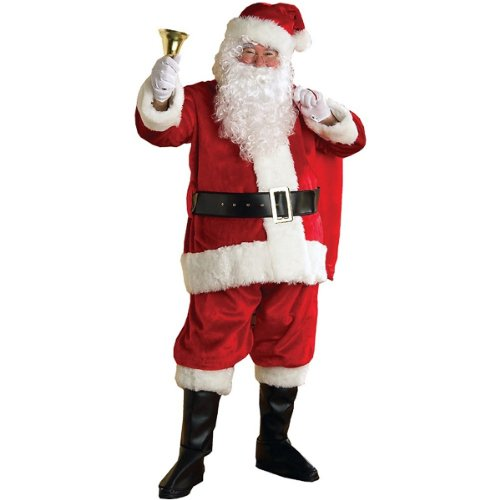 Regency Plush Santa Suit Adult Costume - Large (Regency Suit Santa)