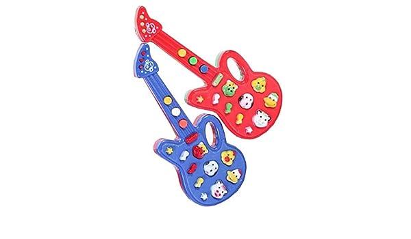 Dragon Troops Guitarra electrónica Juguete para niños, 12 ...