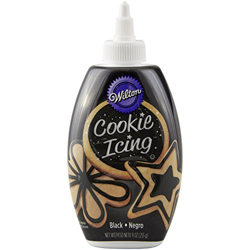 Wilton Black Cookie icing-dispenser, 10 Ounce
