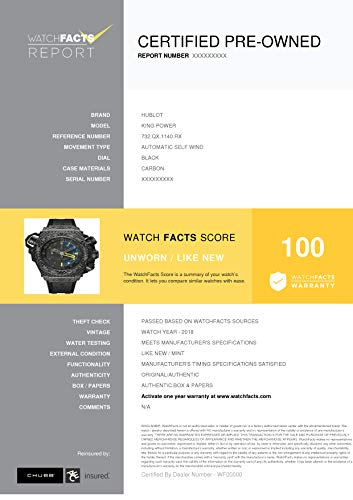 Keim Pre Owned >> Amazon Com Hublot King Power Automatic Self Wind Male Watch